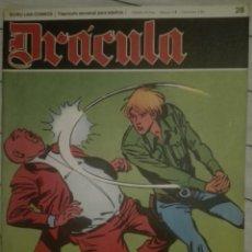 Cómics: DRACULA 28.1972.EN BUEN ESTADO. Lote 135523502
