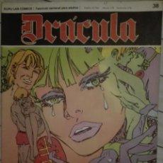 Cómics: DRACULA 38.1972.EN BUEN ESTADO. Lote 135523662