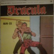 Cómics: DRACULA 39.1972.EN BUEN ESTADO. Lote 135523714