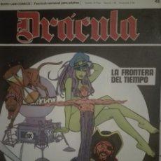 Cómics: DRACULA 41.1972.EN BUEN ESTADO. Lote 135523858