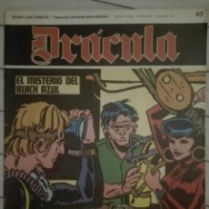 Cómics: DRACULA 43.1972.EN BUEN ESTADO. Lote 135523986