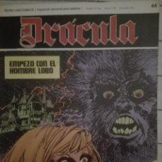 Cómics: DRACULA 44.1972.EN BUEN ESTADO. Lote 135524074