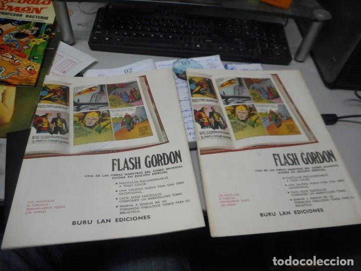 Cómics: flash gordon numero 1 y 2 buen estado heroes del comic burulan - Foto 2 - 135593042