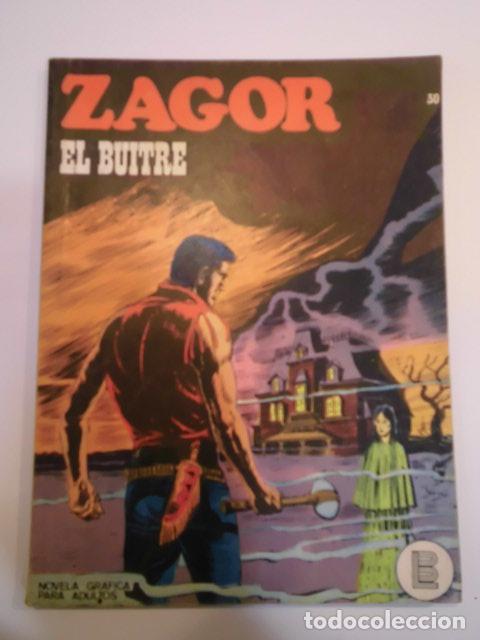 ZAGOR NUM 30 – EL BUITRE - BURU LAN 1972 (Tebeos y Comics - Buru-Lan - Zagor)