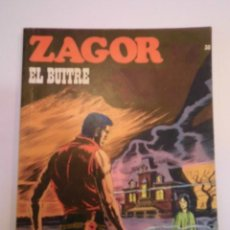 Cómics: ZAGOR NUM 30 – EL BUITRE - BURU LAN 1972. Lote 135610030