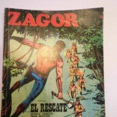 Cómics: ZAGOR NUM 32 – EL RESCATE - BURU LAN 1972. Lote 135610334
