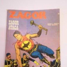 Cómics: ZAGOR NUM 36 – ZAGOR ATACA - BURU LAN 1972. Lote 135610814