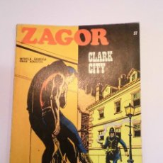 Cómics: ZAGOR NUM 37 – CLARK CITY - BURU LAN 1972. Lote 135610930