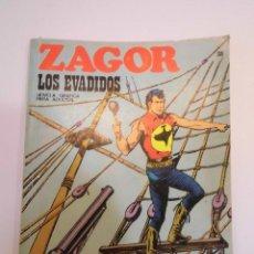 Cómics: ZAGOR NUM 38 – LOS EVADIDOS - BURU LAN 1972. Lote 135611018