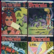 Cómics: DRACULA - COLECCION COMPLETA 60 NUMEROS - MAROTO, GARCÍA, USERO, SUSO - ED BURU LAN 1972. Lote 135648803