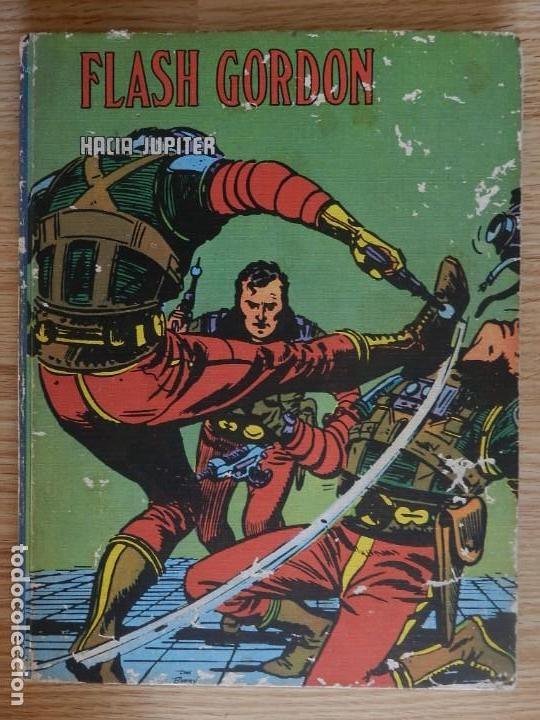 FLASH GORDON TOMO Nº VIII 8 HACIA JÚPITER BURU LAN 1972 HEROES DEL COMIC (Tebeos y Comics - Buru-Lan - Flash Gordon)