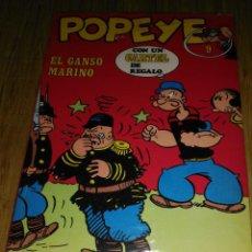 Cómics: POPEYE Nº 9 EDITORIAL BURULAN. Lote 135802438