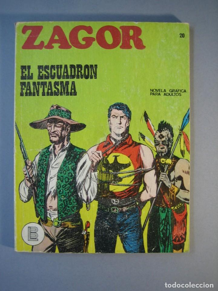 ZAGOR (1971, BURU LAN) 20 · 15-III-1972 · EL ESCUADRON FANTASMA (Tebeos y Comics - Buru-Lan - Zagor)