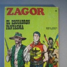 Cómics: ZAGOR (1971, BURU LAN) 20 · 15-III-1972 · EL ESCUADRON FANTASMA. Lote 135827526