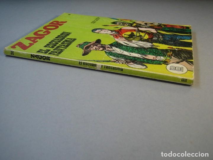 Cómics: ZAGOR (1971, BURU LAN) 20 · 15-III-1972 · EL ESCUADRON FANTASMA - Foto 3 - 135827526