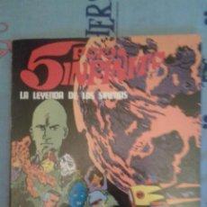 Cómics: 5 POR INFINITO: LA LEYENDA DE LAS SIRENAS: ESTEBAN MAROTO: BURU LAN. Lote 136084822