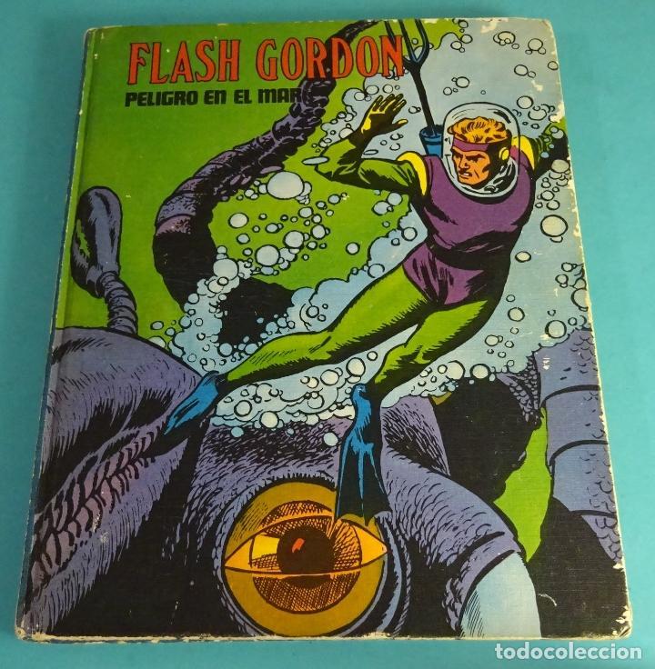 HÉROES DEL COMIC. FLASH GORDON. PELIGRO EN EL MAR Y OTROS TRES EPISODIOS. TOMO X. BURU LAN (Tebeos y Comics - Buru-Lan - Flash Gordon)