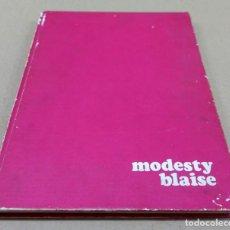 Cómics: MODESTY BLAISE TOMO 1. BURULAN,1974. CONTIENE MEDIA COLECCIÓN,NºS.- DEL 1 AL 12.. Lote 136646778