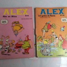 Cómics: ALEX Nº 8 Y 12 - BURU LAN 1974 -EDITA : BURU LAN. Lote 137186098