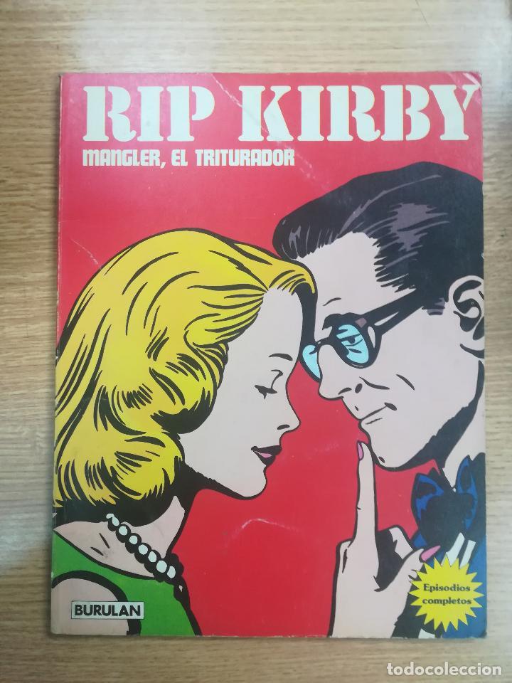 RIP KIRBY RETAPADO #2 MANGLER EL TRITURADOR (Tebeos y Comics - Buru-Lan - Rip Kirby)