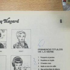 Cómics: UNA AVENTURAS DE JOHHY HAZARD #6. Lote 137628324
