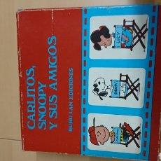 Cómics: CARLITOS, SNOOPY Y SUS AMIGOS. Lote 137881113