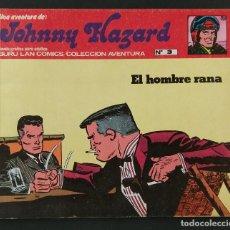 Cómics: JOHNNY HAZARD ANTOLOGÍA DEL CÓMIC BURU LAN Nº 3. Lote 139027426