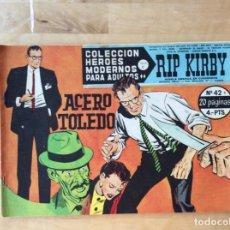 Cómics: RIP KIRBY.COLECCION HÉROES MODERNOS. NÚMERO 42. Lote 139320730