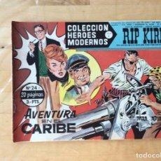 Cómics: RIP KIRBY.COLECCION HÉROES MODERNOS. NÚMERO 24. Lote 139321202