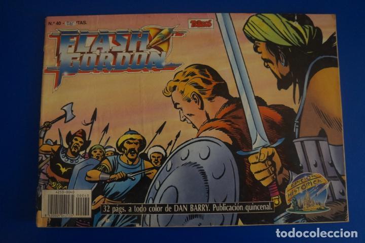 CÓMIC DE FLASH GORDON AÑO 1988 Nº 40 EDICIÓN HISTÓRICA DE EDICIONES B,S.A LOTE 26 E (Tebeos y Comics - Buru-Lan - Flash Gordon)