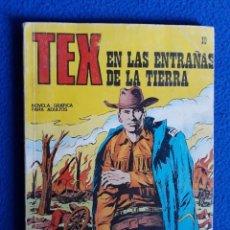 Cómics: TEX Nº 10 - EN LAS ENTRAÑAS DE LA TIERRA - BURU LAN. Lote 139790962