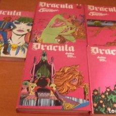 Cómics: DRACULA BURU LAN, S. A. DE EDICIONES LOTE 5 TOMOS. Lote 140151010