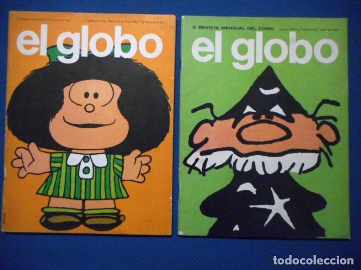 EL GLOBO 1 - 2 BURU LAN 1973 (Tebeos y Comics - Buru-Lan - Otros)