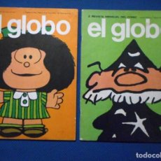 Cómics: EL GLOBO 1 - 2 BURU LAN 1973. Lote 140365730