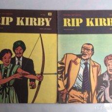 Cómics: RIP KIRBY Nº 30 Y 39 1973 BURU LAN. Lote 140431814