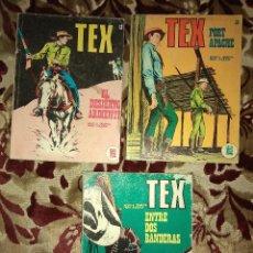 Cómics: LOTE TEX Nº 13 Y 26 (REGALO LOS Nº 27 Y 28). Lote 140435522