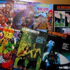 Cómics: LA HISTORIETA ( COLECCIÓN COMPLETA 7 NÚMEROS ) BURU LAN 1973. Lote 140448334