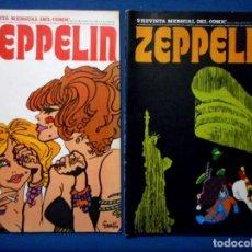 Cómics: ZEPPELIN Nº1 - 2 BURU LAN 1973. Lote 140552702
