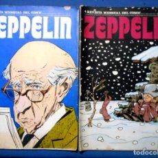 Cómics: ZEPPELIN Nº 3 - 4 BURU LAN 1973. Lote 140552998