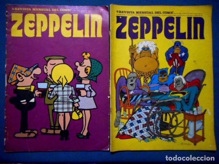 ZEPPELIN Nº 5 - 6 BURU LAN 1974 (Tebeos y Comics - Buru-Lan - Otros)