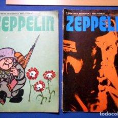Cómics: ZEPPELIN Nº 7 Y 9 BURU LAN 1974. Lote 140553650