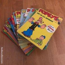 Cómics: LOTE POPEYE - BURULAN - 1970 (16 CÓMICS). Lote 140646770