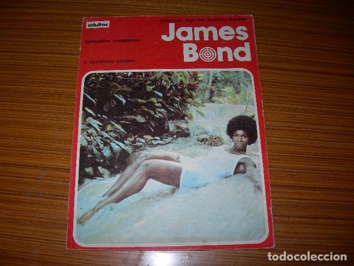 JAMES BOND Nº 4 EDITA BURU LAN (Tebeos y Comics - Buru-Lan - James Bond)