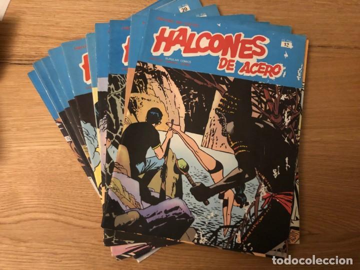 Cómics: SEGUNDA PARTE, MITAD COLECCIÓN HALCONES DE ACERO Nº13, 14, 15, 16, 17, 18, 19, 20, 21, 22, 23, 24, - Foto 2 - 141151350