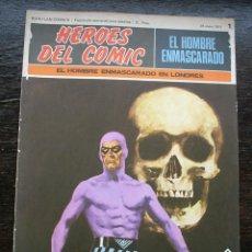 Cómics: EL HOMBRE ENMASCARADO - FASCÍCULO 1: EL HOMBRE ENMASCARADO EN LONDRES - AÑO 1971. Lote 141556498