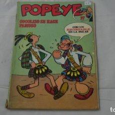 Cómics: POPEYE NUMERO 27 . COCOLISO SE HACE FAMOSO. Lote 141643162