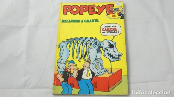 POPEYE NUMERO 24 . MILLONES A GRANEL (Comics und Tebeos - Buru-Lan - Popeye)