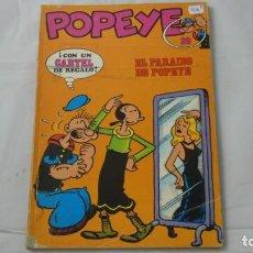 Cómics: POPEYE NUMERO 20 . EL PARAISO DE POPEYE . . Lote 141644810