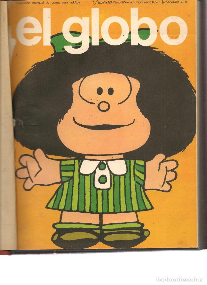EL GLOBO. ¡¡COLECCIÓN COMPLETA!!. 21 NROS. EN TRES TOMOS. BURU LAN 1973. (RF.MA)B/4 (Tebeos y Comics - Buru-Lan - Otros)