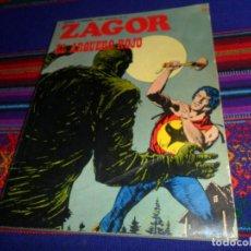 Cómics: ZAGOR Nº 68. BURU LAN 1974. 25 PTS. EL ARQUERO ROJO. MUY DIFÍCIL.. Lote 141656346